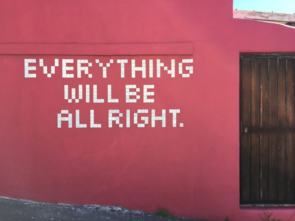 Everything Will be Alright - Woodstock mural